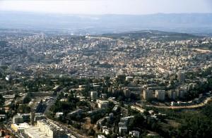 Nazareth aerial from northeast, 121-29tb