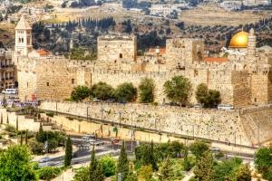 MURALHAS DA CIDADE DE JERUSALÉM
